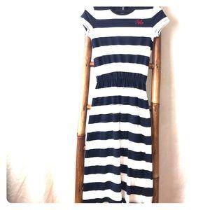 Polo Ralph Lauren NWT Big Girls Stripe Maxi Dress